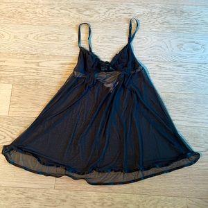🎉 Victoria Secret Angels Black Teddy